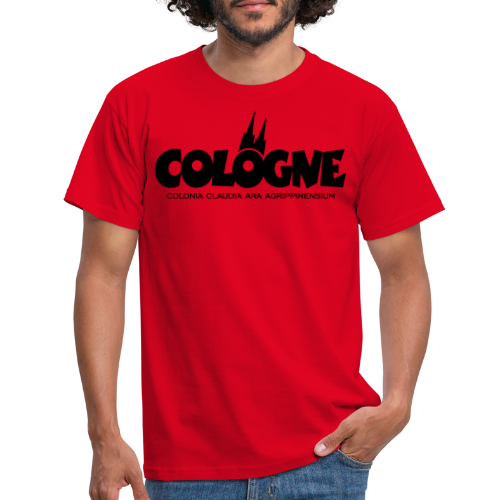Cologne Colonia Claudia Ara Agrippinensium (Schwarz) Köln Römisch - Männer T-Shirt