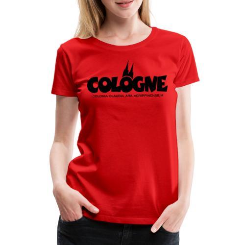 Cologne Colonia Claudia Ara Agrippinensium (Schwarz) Köln Römisch - Frauen Premium T-Shirt