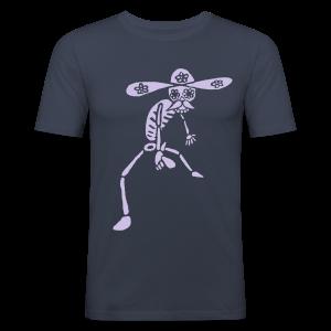 T-Shirt CALAVERA - Männer Slim Fit T-Shirt