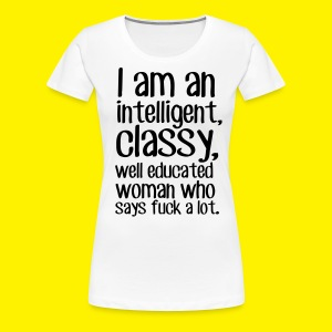 I am a F word person - Women's Premium T-Shirt