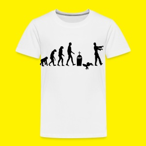 Evolution of zombies - Kids' Premium T-Shirt