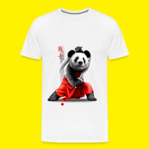 Panda warrior - Men's Premium T-Shirt