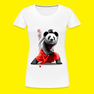 Panda warrior - Women's Premium T-Shirt