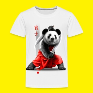 Panda warrior - Kids' Premium T-Shirt