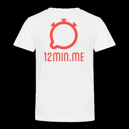 12min.me Tasse (weiß) - Kids' Premium T-Shirt