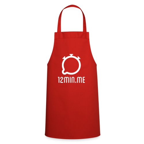 12min.me Tasse (rot) - Cooking Apron