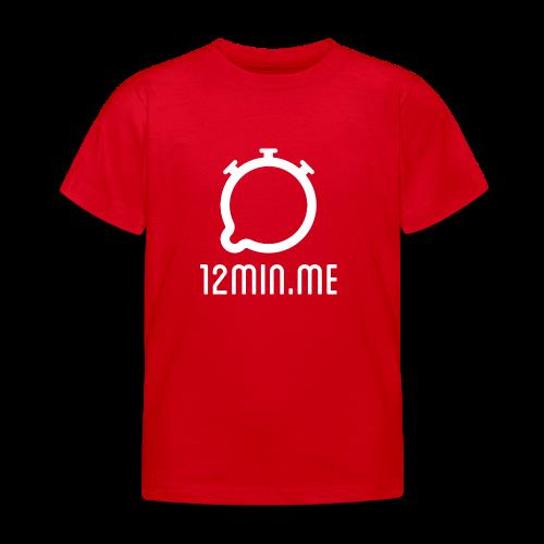 12min.me Tasse (rot) - Kids' T-Shirt