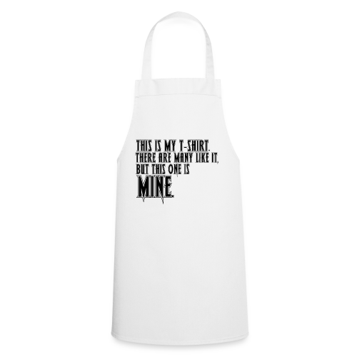 This is MINE Logo Men's Baseball T-Shirt - Cooking Apron