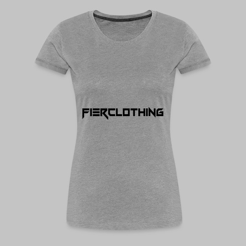 Fier.clothing - Kapuzenpullover Unisex - Frauen Premium T-Shirt