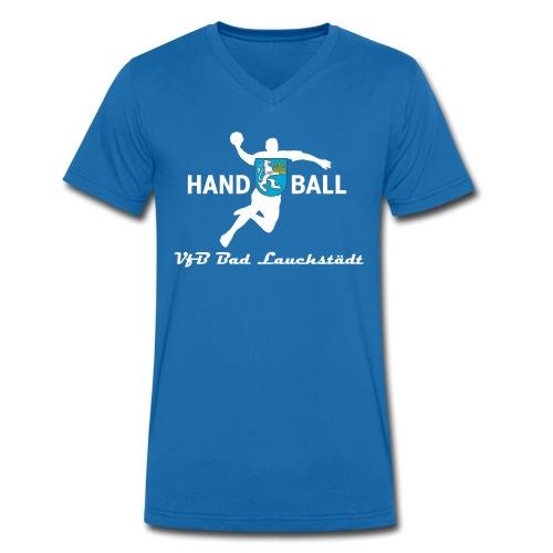 Handball - Stadt - Männer Bio-T-Shirt mit V-Ausschnitt von Stanley & Stella