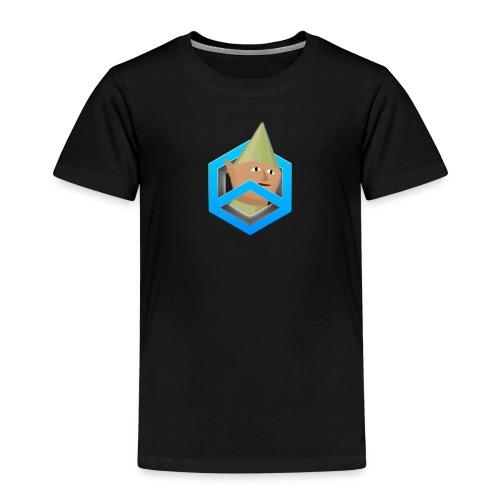 black w/ featured logo - Kids' Premium T-Shirt