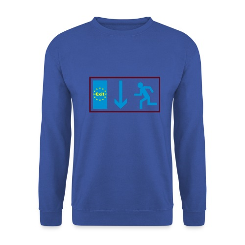 T Shirt €xit - Männer Pullover