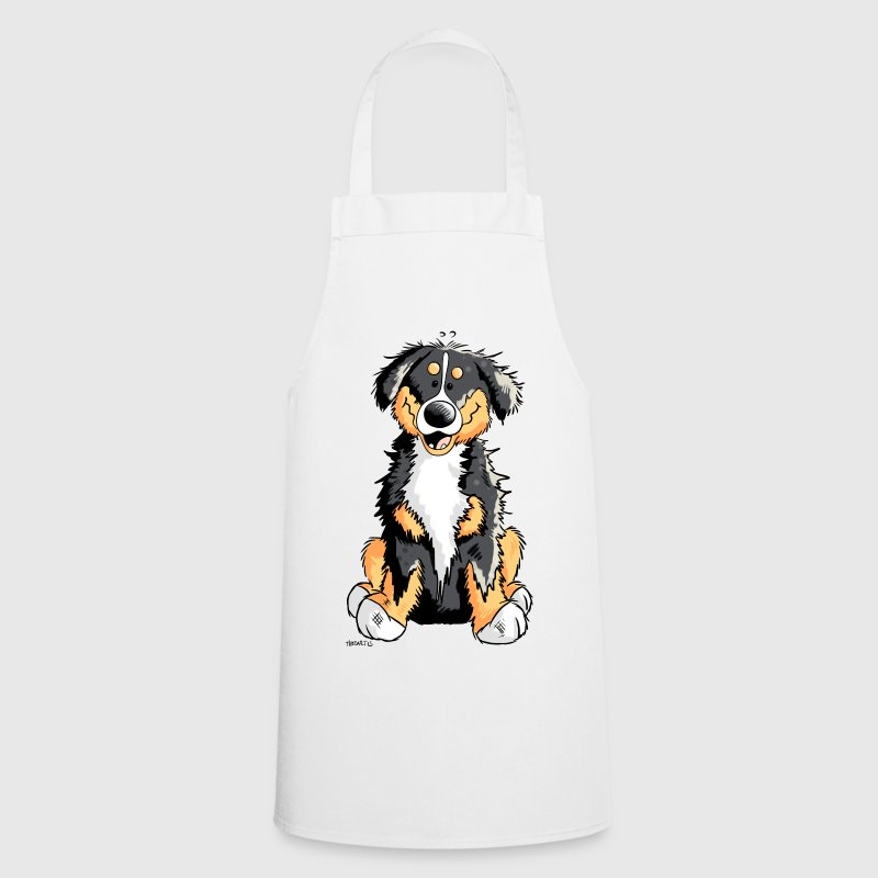 Cute Bernese Mountain Dog  Aprons - Cooking Apron