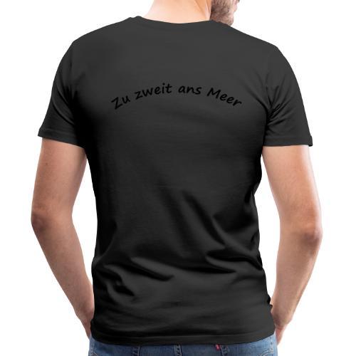 Zu zweit ans Meer - Männer Premium T-Shirt