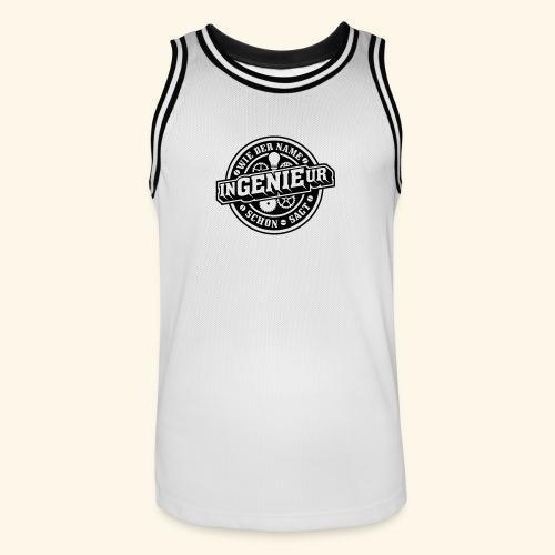 Ingenieur = Genie - Männer Basketball-Trikot