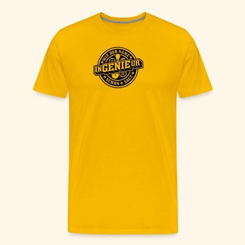 Ingenieur = Genie - Männer Premium T-Shirt