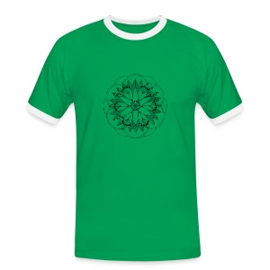 Pond Bouquet Mandala - Men's Ringer Shirt