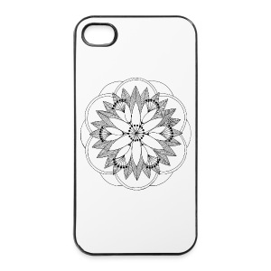 Pond Bouquet Mandala - iPhone 4/4s Hard Case