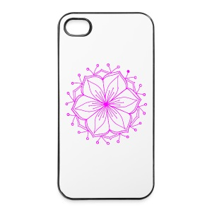 Pink Lotus Mandala - iPhone 4/4s Hard Case