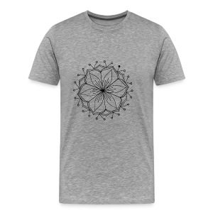Lotus Mandala - Men's Premium T-Shirt