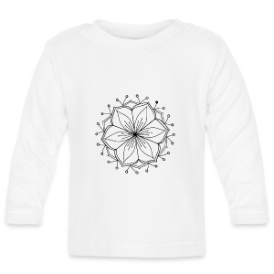 Lotus Mandala - Baby Long Sleeve T-Shirt