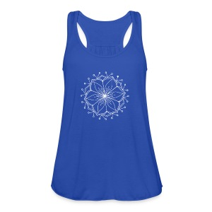 White Lotus MAndala - Women's Tank Top by Bella