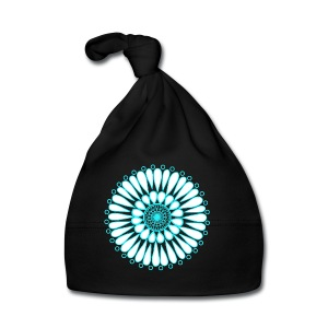 Ice Sunflower Mandala - Baby Cap