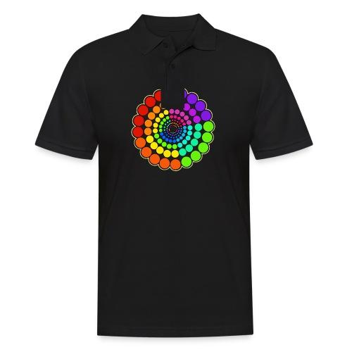 Rainbow Spectrum Mandala - Men's Polo Shirt