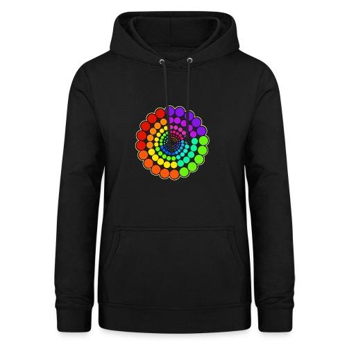 Rainbow Spectrum Mandala - Women's Hoodie