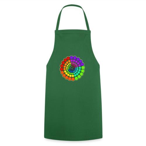 Rainbow Spectrum Mandala - Cooking Apron