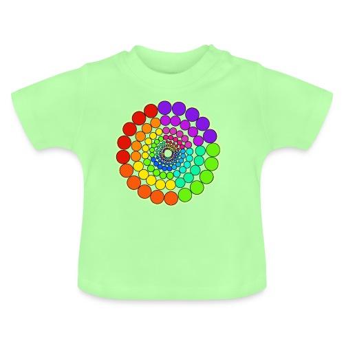 Rainbow Spectrum Mandala - Baby T-Shirt