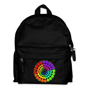 Rainbow Spectrum Mandala - Kids' Backpack
