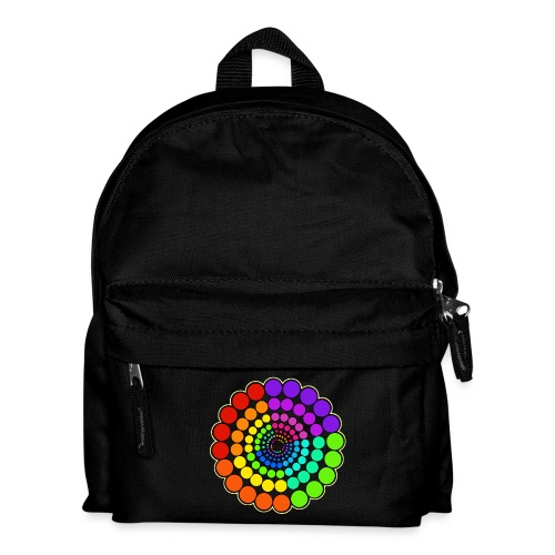 Rainbow Spectrum Mandala - Kids' Backpack