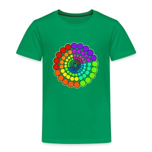 Rainbow Spectrum Mandala - Kids' Premium T-Shirt