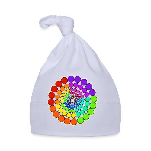 Rainbow Spectrum Mandala - Baby Cap