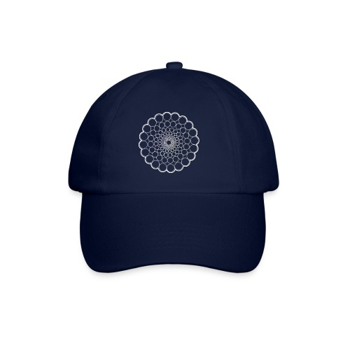 White Spectrum Mandala - Baseball Cap