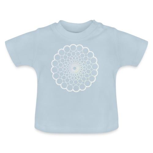 White Spectrum Mandala - Baby T-Shirt