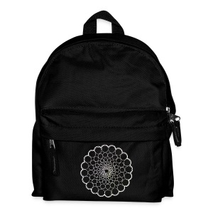 White Spectrum Mandala - Kids' Backpack
