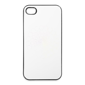 White Spectrum Mandala - iPhone 4/4s Hard Case