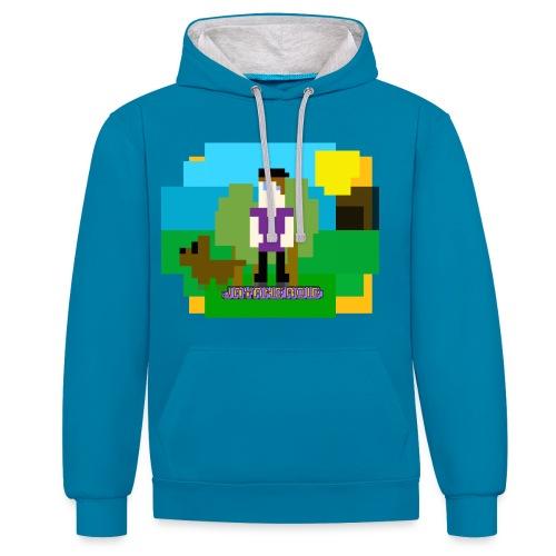 GR8BIT - Contrast Colour Hoodie