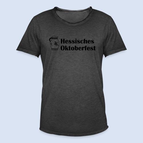 Frankfurter Oktoberfest - Wiesn auf Hessisch - Männer Vintage T-Shirt