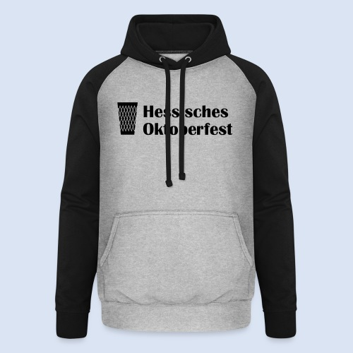 Frankfurter Oktoberfest - Wiesn auf Hessisch - Unisex Baseball Hoodie