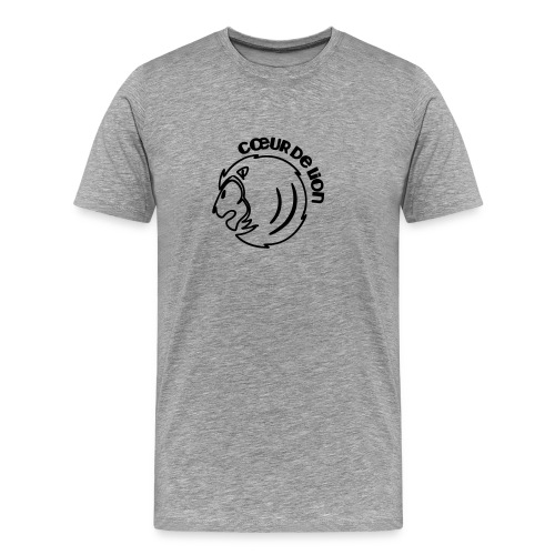 LV_sleeves_burgund - Männer Premium T-Shirt