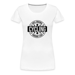 Cycling / Cyclist / Bike / Radfahren / Cyclisme  Aprons - Women's Premium T-Shirt