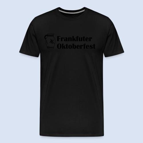 Frankfurter Oktoberfest - Wiesn auf Hessisch - Männer Premium T-Shirt