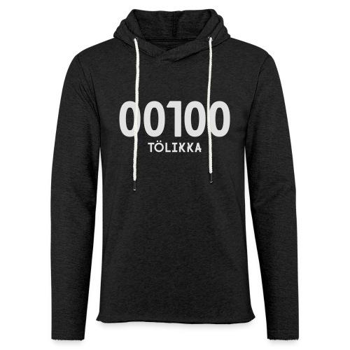 00100 TÖLIKKA - Kevyt unisex-huppari