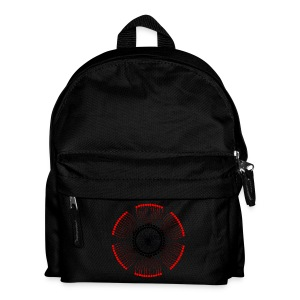 Red Poppy Seeds Mandala - Kids' Backpack