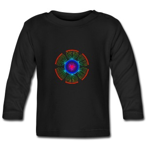 Rainbow Poppy Seeds Mandala - Baby Long Sleeve T-Shirt
