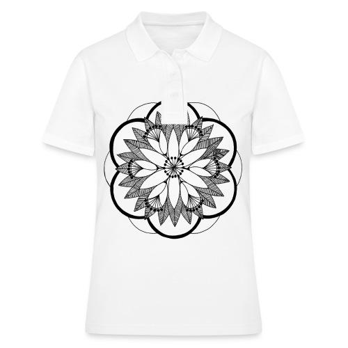 Pond Bouquet Mandala - Women's Polo Shirt