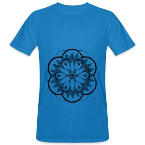 Pond Bouquet Mandala - Men's Organic T-shirt